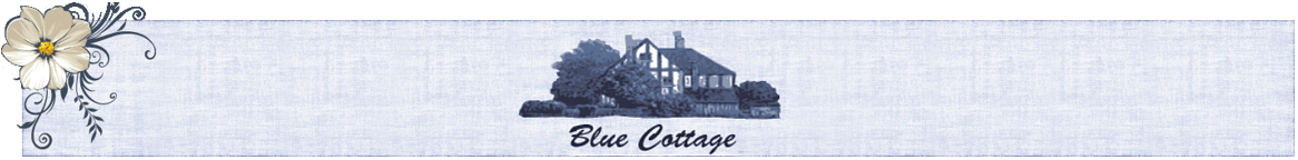 Blue Cottage - Shabby Chic • Vintage • Landhausstil