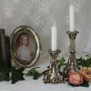 Altfranzösischer Kerzenständer Chic Antique BLUE COTTAGE