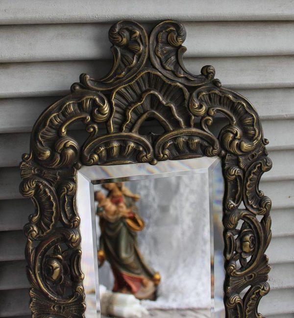 Bronzespiegel antik BLUE COTTAGE