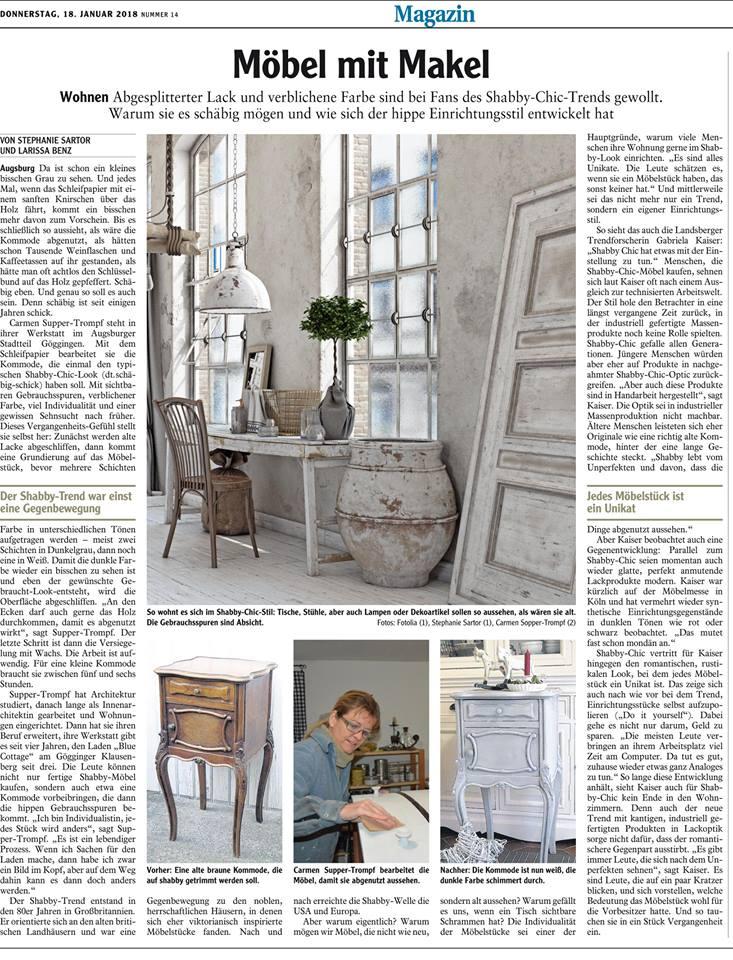 Artikel augsburger Allgemeine 17012018