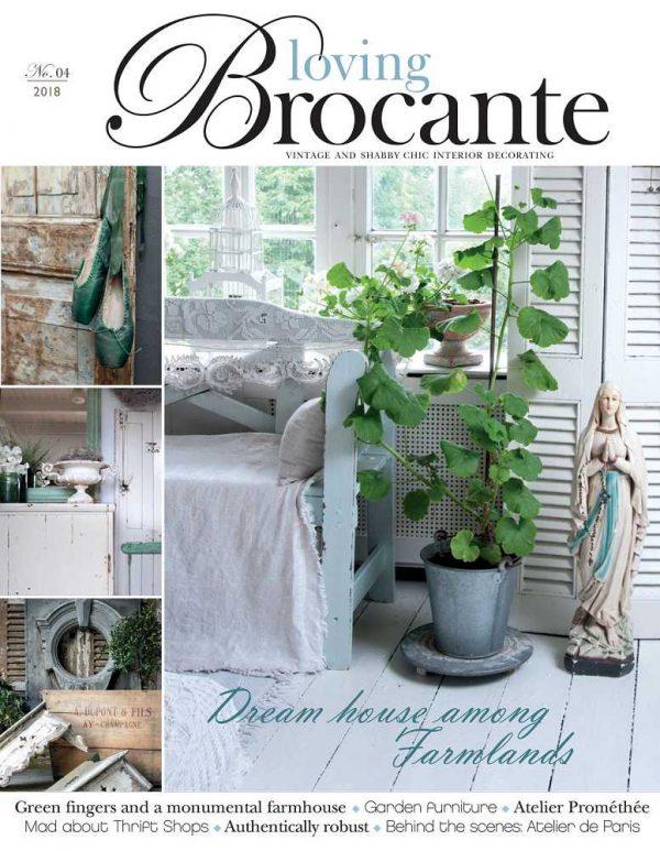 Magazin LOVING BROCANTE Ausgabe 4/2018 BLUE COTTAGE
