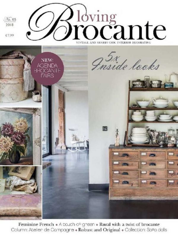 Magazin LOVING BROCANTE Ausgabe 5/2018 BLUE COTTAGE