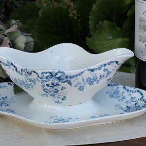 antike Sauciere Frankreich BLUE COTTAGE
