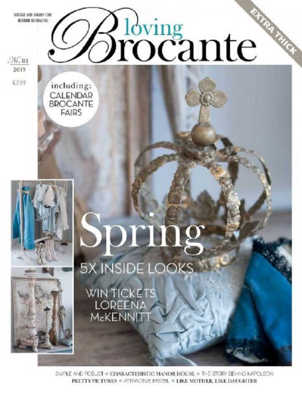 Magazin LOVING BROCANTE Ausgabe 1/2019 BLUE COTTAGE