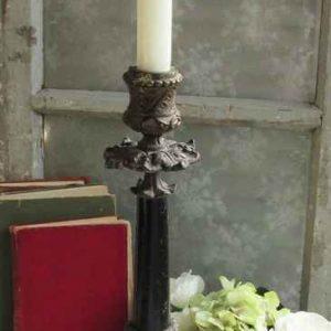 antiker französischer Kerzenhalter BLUE COTTAGE