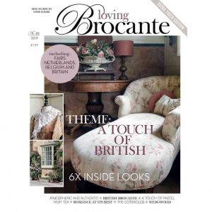 Magazin LOVING BROCANTE Ausgabe 2/2019 BLUE COTTAGE