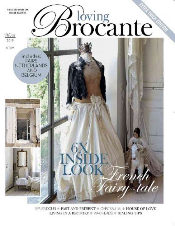 Magazin LOVING BROCANTE Ausgabe 3/2019 BLUE COTTAGE