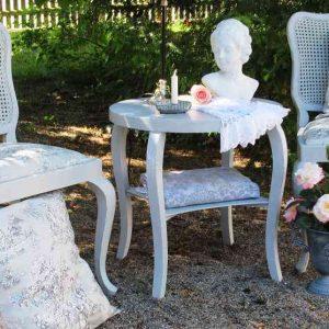zauberhafte alte Sitzgruppe shabby chic BLUE COTTAGE