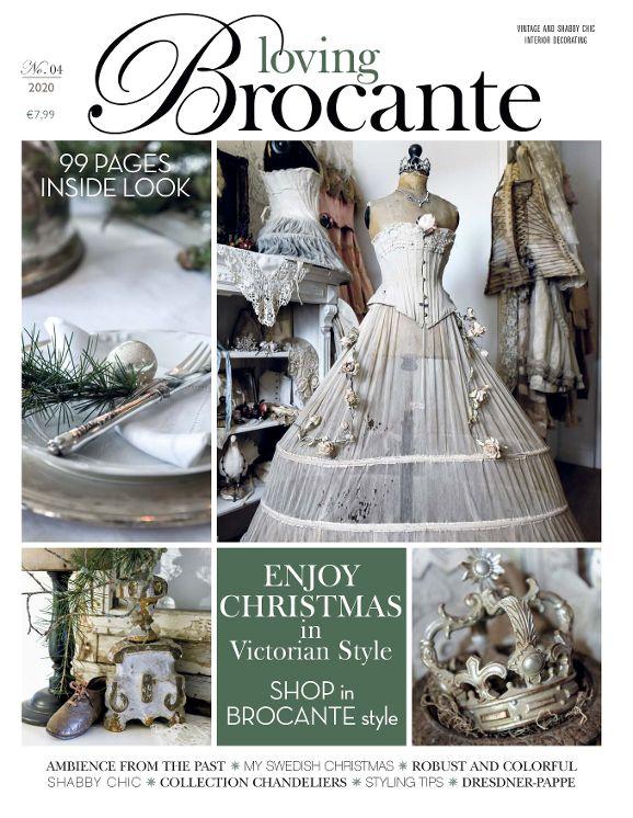 Magazin LOVING BROCANTE 4/2020 BLUE COTTAGE