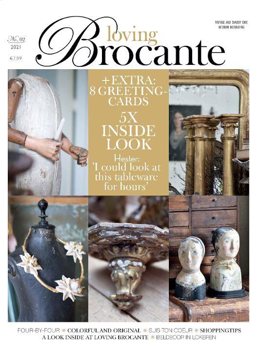 Magazin LOVING BROCANTE 2/2021 BLUE COTTAGE